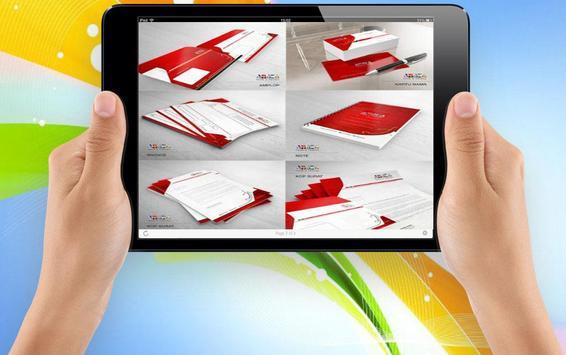 Name Card Design Brochures screenshot 2