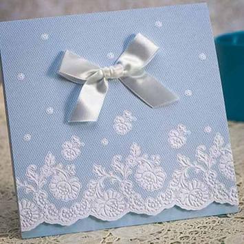 Wedding Invitation Card Design poster