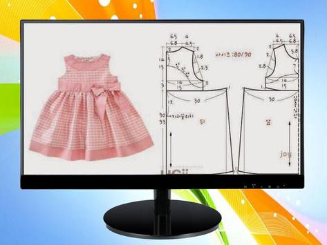 Design Patterns of Children's Clothing screenshot 4