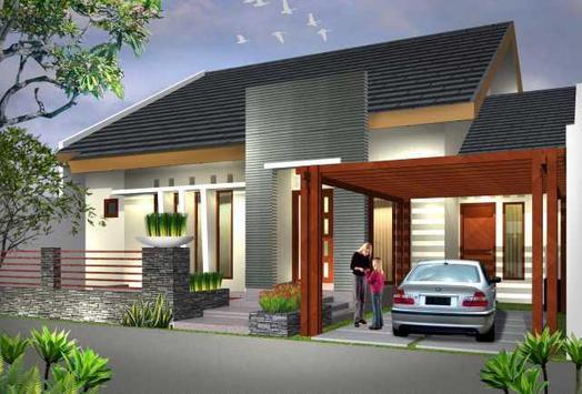 Desain Rumah Minimalis Modern 스크린샷 1