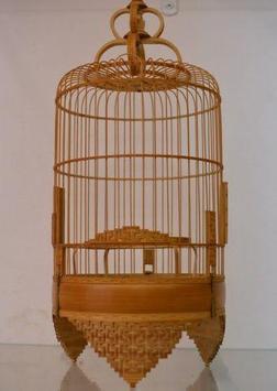 Desain of Bird Cage poster