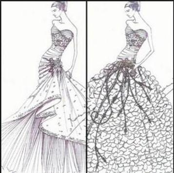 Design Sketch of Bridal Gown for Android - APK Download