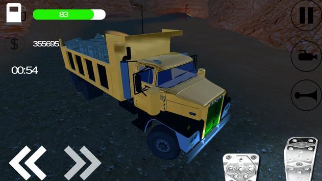 Desert Cargo Truck Driving apk screenshot