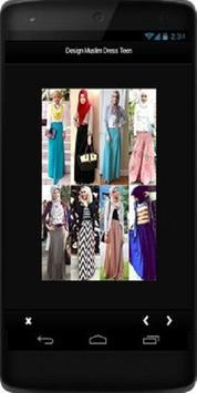 Design Muslim Dress Teen screenshot 3