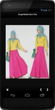 Design Muslim Dress Teen poster