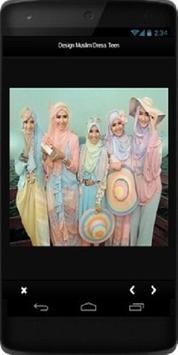 Design Muslim Dress Teen screenshot 1