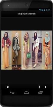 Design Muslim Dress Teen screenshot 2