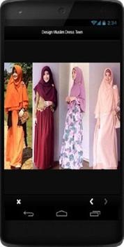 Design Muslim Dress Teen screenshot 4