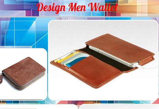 Design Men Wallet poster