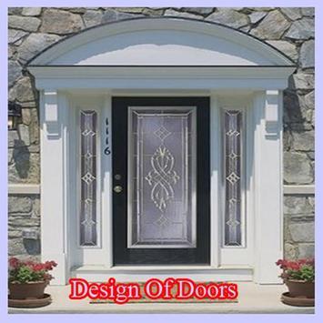 the design of the door poster