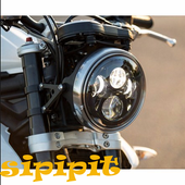 Design of Motorcycle Lights icon