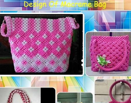 Design Of Macrame Bag poster