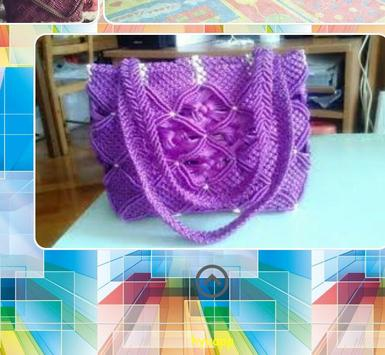 Design Of Macrame Bag screenshot 2