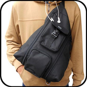 Design Of Man Bag icon