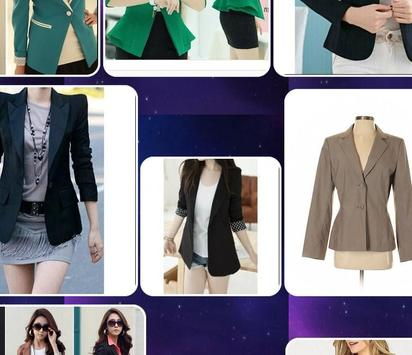 Design Of Women Blazer screenshot 1