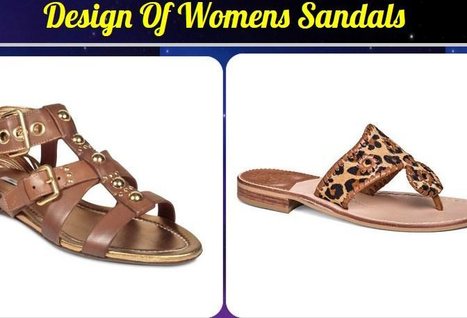 Design Of Womens Sandals poster