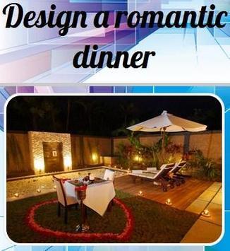 Design A Romantic Dinner poster