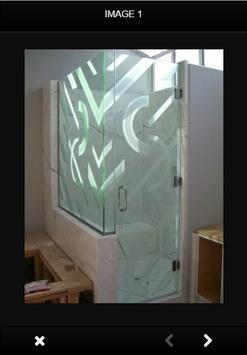 Design Bathroom Glass Door screenshot 1