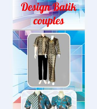 Design Batik couples screenshot 1