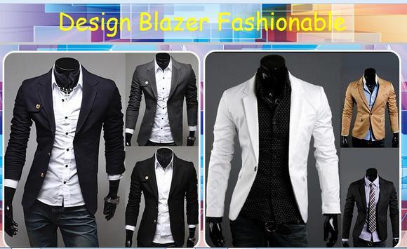 Design Blazer Fashionable poster