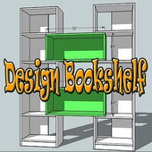 Design Bookshelf icon