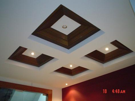 Design Ceiling Modern poster