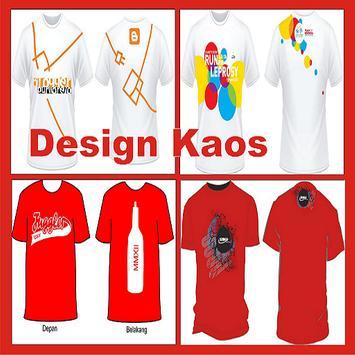 T-shirt design poster