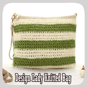 Design Lady Knitted Bag icon