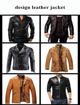 design leather jacket poster
