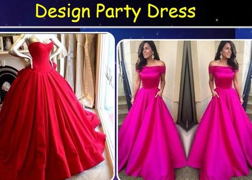 Design Party Dress poster