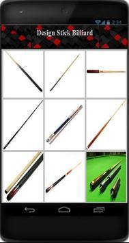 Design Stick Billiard poster