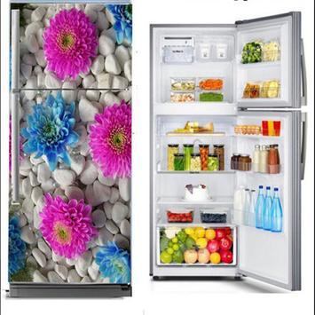 Design Sticker Refrigerator poster