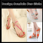 Design Sandals For Girls icon