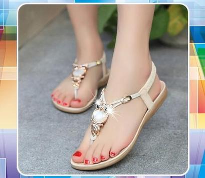 Design Sandals For Girls poster