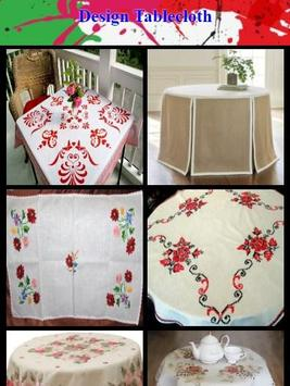 Design Tablecloth poster
