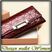 Design wallet Women icon