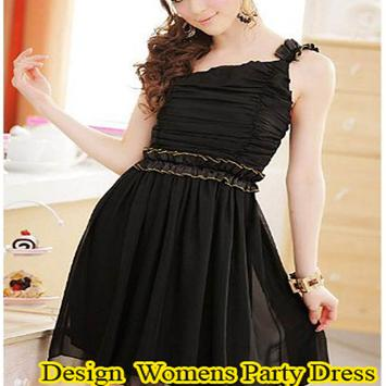 Women's Party Dress Design poster