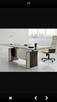Design work desk / office poster