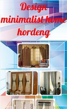 Design minimalist home hordeng screenshot 1