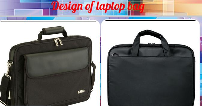 Design of Laptop Bags poster