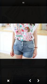 Design of Women Short Pants screenshot 4