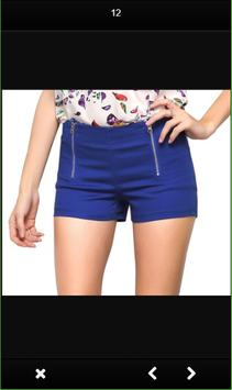 Design of Women Short Pants screenshot 5