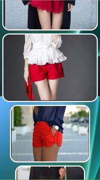 Design of Women Short Pants screenshot 1
