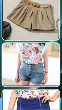 Design of Women Short Pants screenshot 2