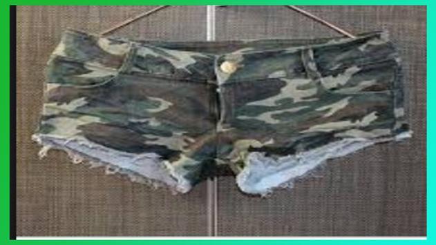 Design of Women Short Pants screenshot 3