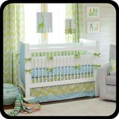 Design a Baby Bed icon