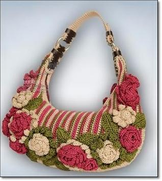 Designer Knitted Bags Womens poster