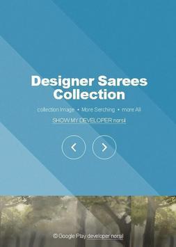 Designer Sarees Collection poster
