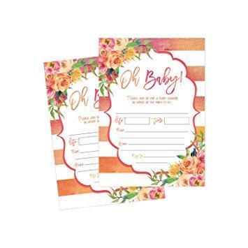 Baby Shower Invitation Card Design screenshot 3
