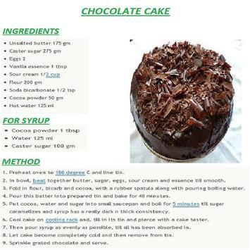Chocolate Cake English Recipes screenshot 3